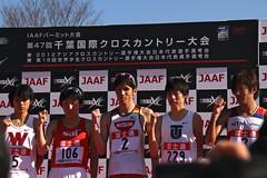 一般男子12km、表彰式