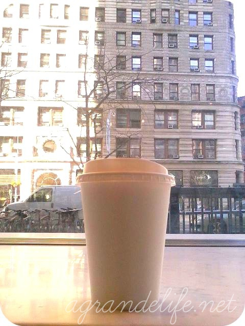 A Grande Life | View of the Flatiron Building