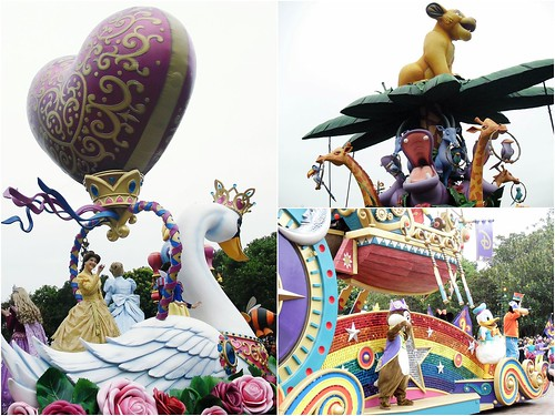 flight of fantasy parade