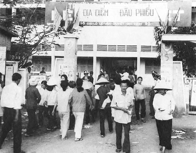 Bầu cử Hạ Nghị Viện năm 1971 tại trường Lê Văn Duyệt Gia Định