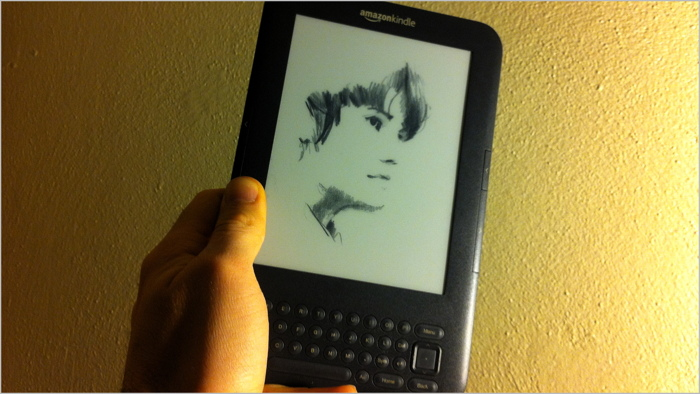 Custom Kindle Screensaver