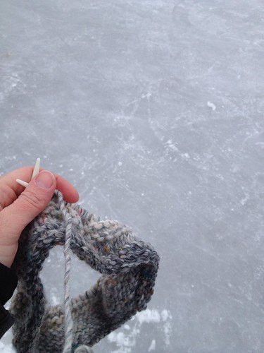 Knitting on ice