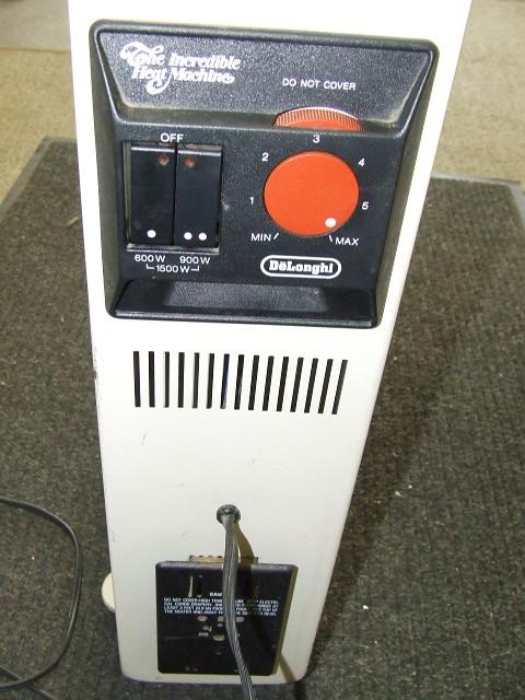 delonghi the heat machine