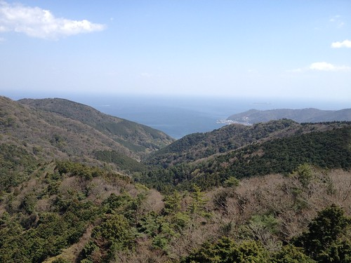 山伏峠(伊豆)からの眺望