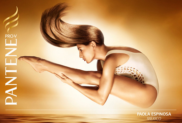 Pantene Olympic campaign: Paola Espinosa