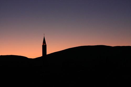 sunset macro ex church silhouette skyline canon dc purple mostar bosnia sigma herzegovina f28 1850mm 450d sigma1850mmf28exdcmacro