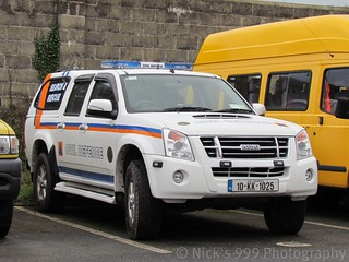 Civil Defence / 10 KK 1025 / Isuzu D-Max / Team Vehicle