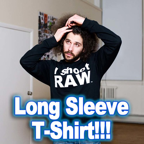 I Shoot RAW Long Sleeve