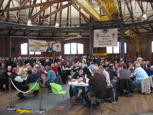 Derby winter Beer festival 2012