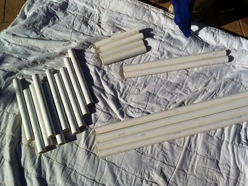Pipe Lengths Cut