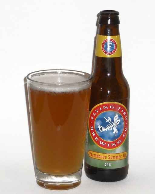 Flying Fish Brewing Co Farmhouse Summer Ale