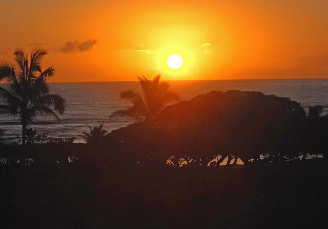 Another view of Kauai sunset