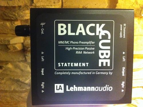 Black Cube Statement lehmannaudio Oberseite