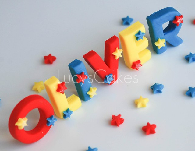 Cake Toppers Letters Uk : edible letter cake toppers Flickr - Photo Sharing!