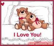 osos en la cama