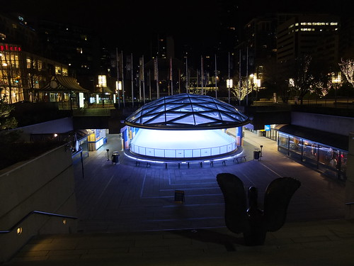 Vancouver Art Gallery Ice Rink