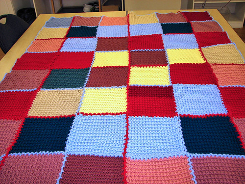 Finished B4C blanket