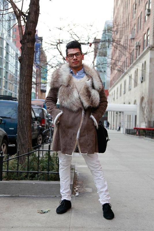 pmodel - nyc nyfw street fashion style