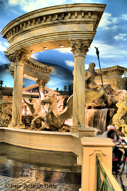 Fountains by bertolini s statues of roman gods the forum for Garden statues las vegas nv