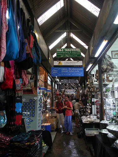 Interior Mercado de Chatuchak