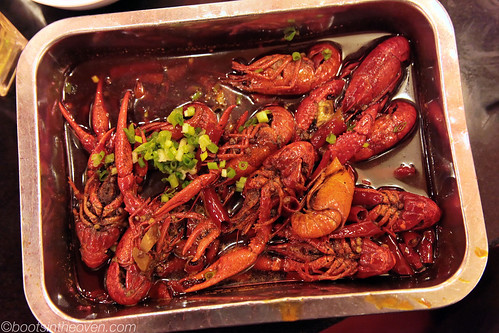 """Little Spicy Things"" - Crawfish in Sichuan Peppercorn sauce"