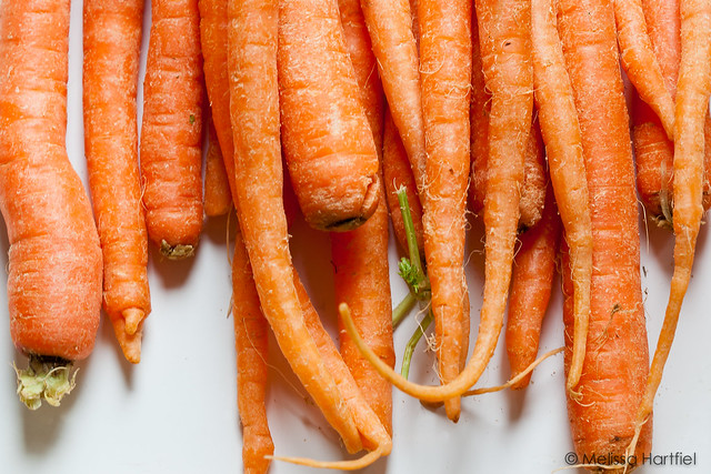 A pile of carrots