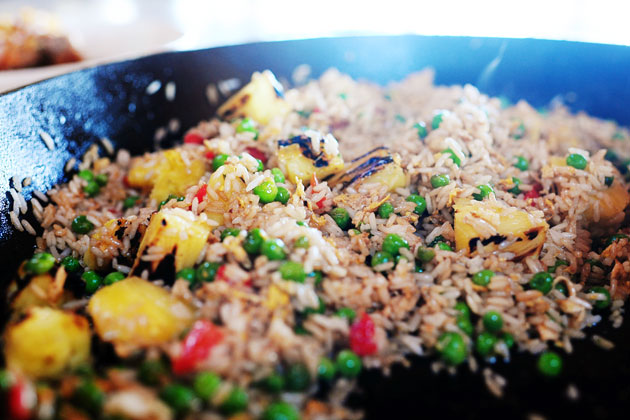 Pork Chops with Pineapple Fried Rice | The Pioneer Woman ...