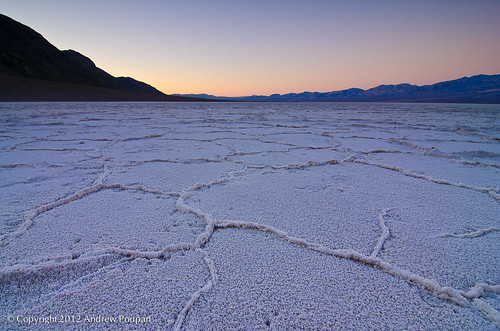 Daybreak Over Badwater Basin (Explored)