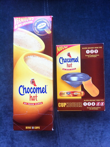 I love Taobao: they even sell Dutch Chocomel for Senseo