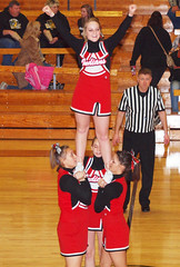 sports(0.0), basketball moves(0.0), team sport(0.0), cheering(1.0), cheerleading uniform(1.0), cheerleading(1.0),