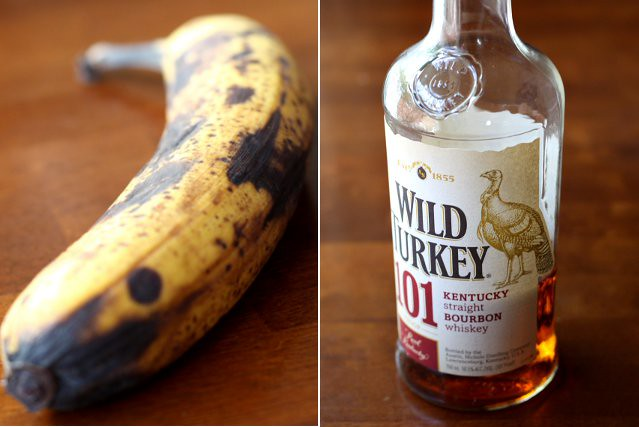 banana and bourbon