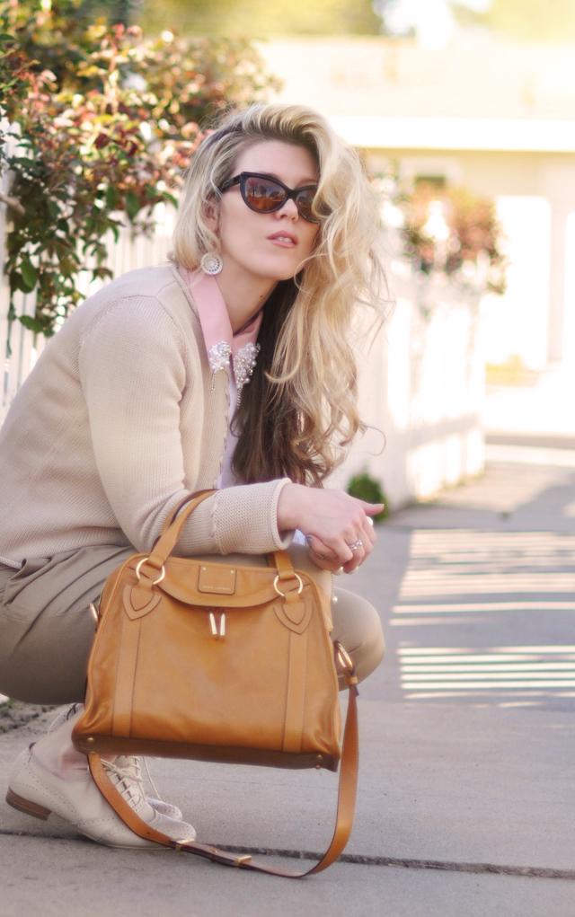 marc jacobs bag - embellished collar diy-oxfords-cat eye sunglasses