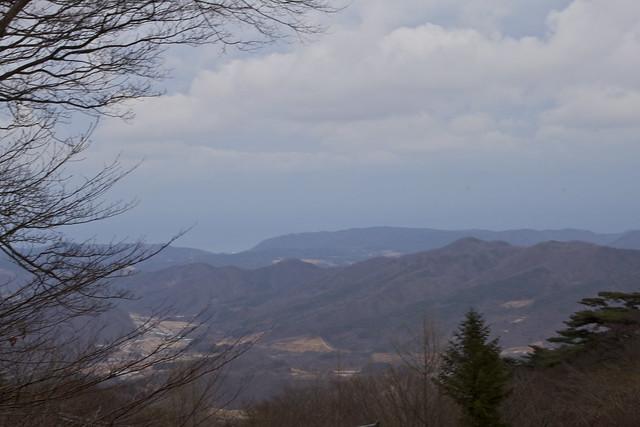 Hiking in the mountains of Gyeongju, Korea by CC user seafaringwoman
