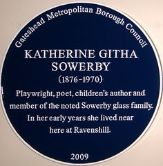 Photo of Katherine Githa Sowerby blue plaque