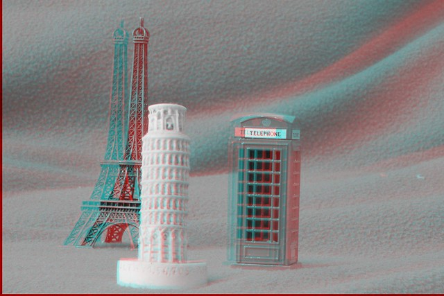 European Sights in 3D