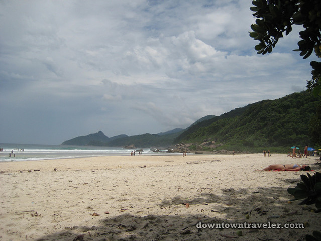 Ilha Grande Beach in Brazil