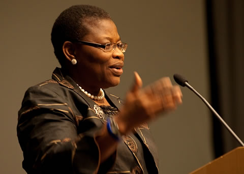 Dr. Oby Ezekwesili is the Vice-President of the World Bank for Africa. She is originally from the West African state of Nigeria. by Pan-African News Wire File Photos