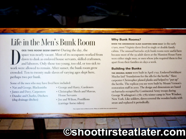 Mount Vernon-  men's bunk room
