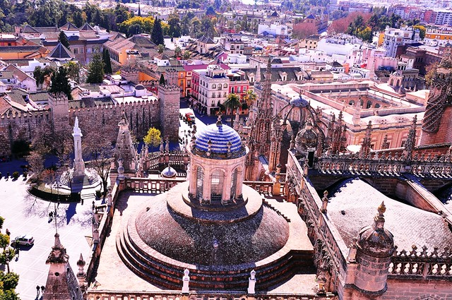 A View of Seville, Spain