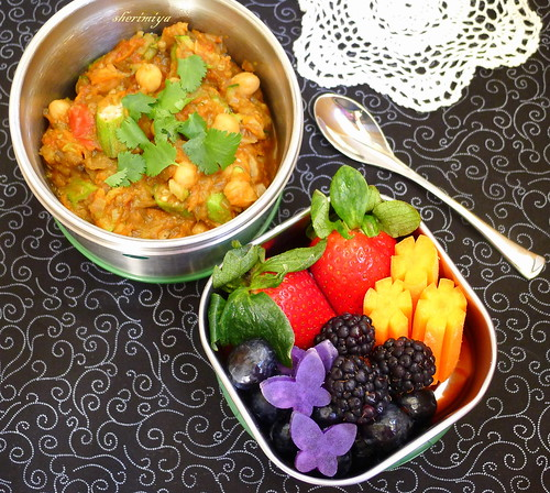 Eggplant Curry Thermal Bento by sherimiya ♥