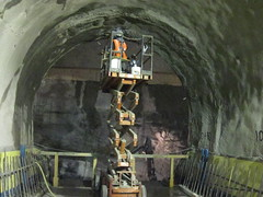 CM019 - Patching Shotcrete in Access Tunnel 3 (3-6-2012)