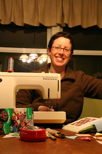 thin mint-fueled sewing