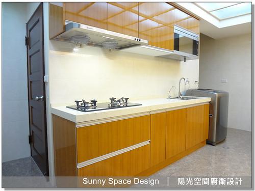 隱藏把手-廚具大王-蘆洲中山二路張小姐石英石廚具-陽光空間廚衛設計8