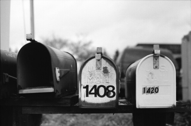 Mailboxes on 130th Ave NE 2
