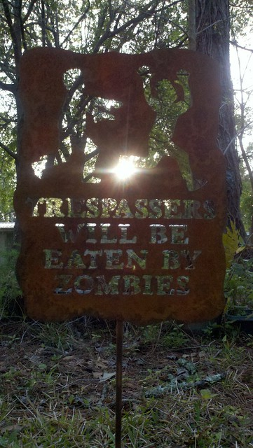 Trespassers will