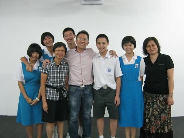 2012 - 04 - 19 槟城恒毅国中- 关爱自己的生命