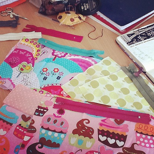 Making some cute cases #crafts #sewing
