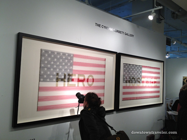 Volta NY Art Show_Jeremy Dean American Flags