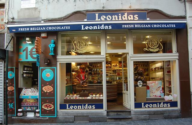 Roteiro de lojas de chocolate em Bruxelas