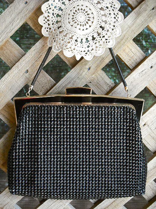 Black Glomesh bag